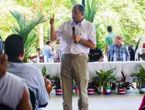 President Luis Guillermo, July 23 in Nosara