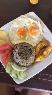 typical Costa Rican dish Gallo Pinto