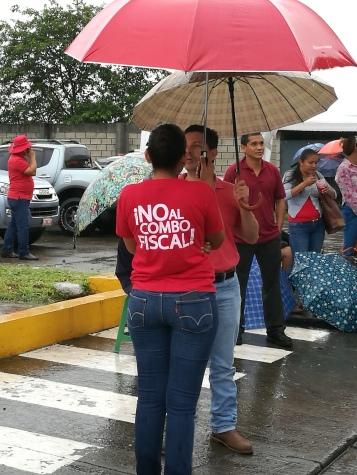 No al combo fiscal, the strike continues